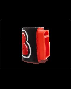 AresII/Alfa Elastic Wrist Mount, Red/Black
