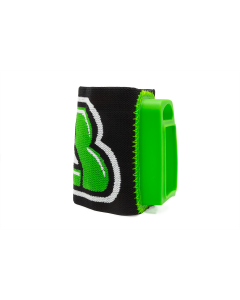 AresII/Alfa Elastic Wrist Mount, Green/Black