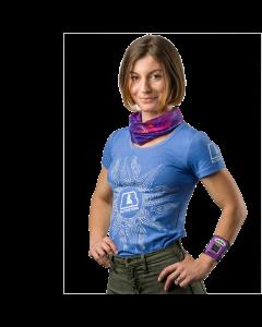 T-shirt-Female-Blue